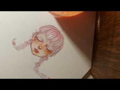✨Drawing ASMR✨ Close Up Whisper✨ Pencil Sounds✨Art Tutorial✨