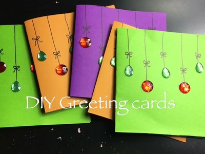 Easy Greeting cards diy || Thanksgiving cards for kids