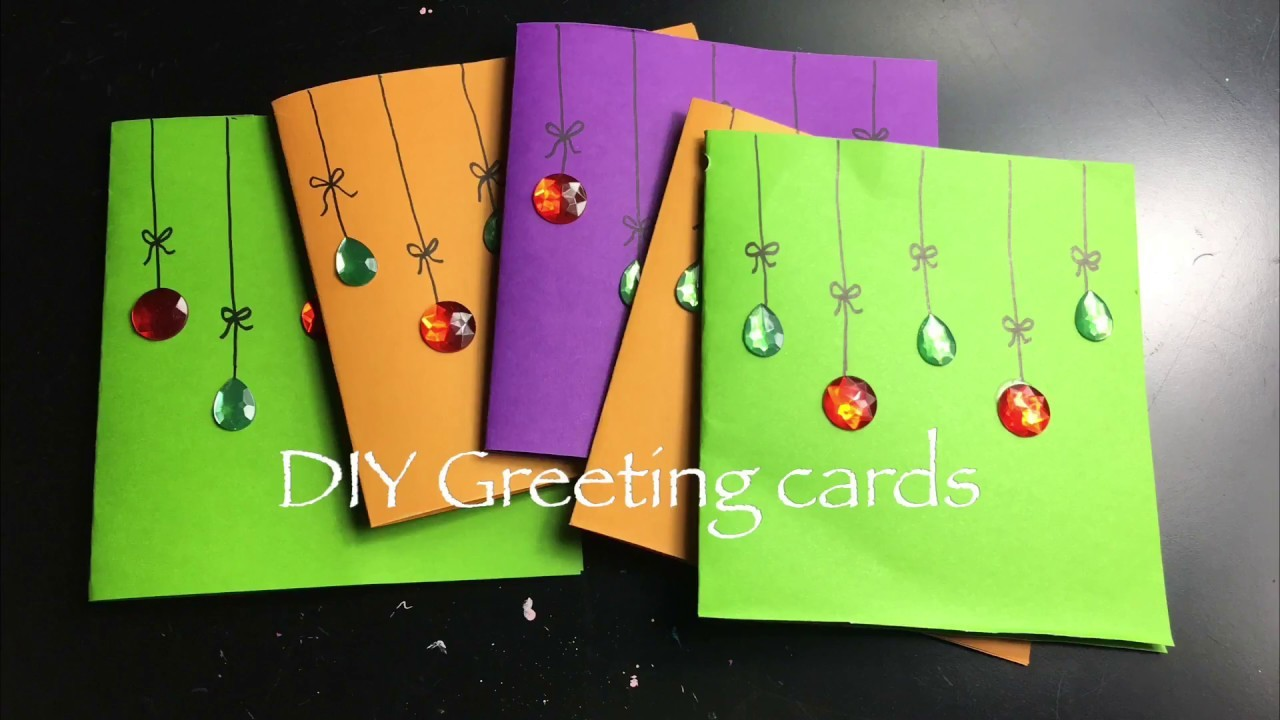 Easy Greeting Cards Diy Thanksgiving Cards For Kids