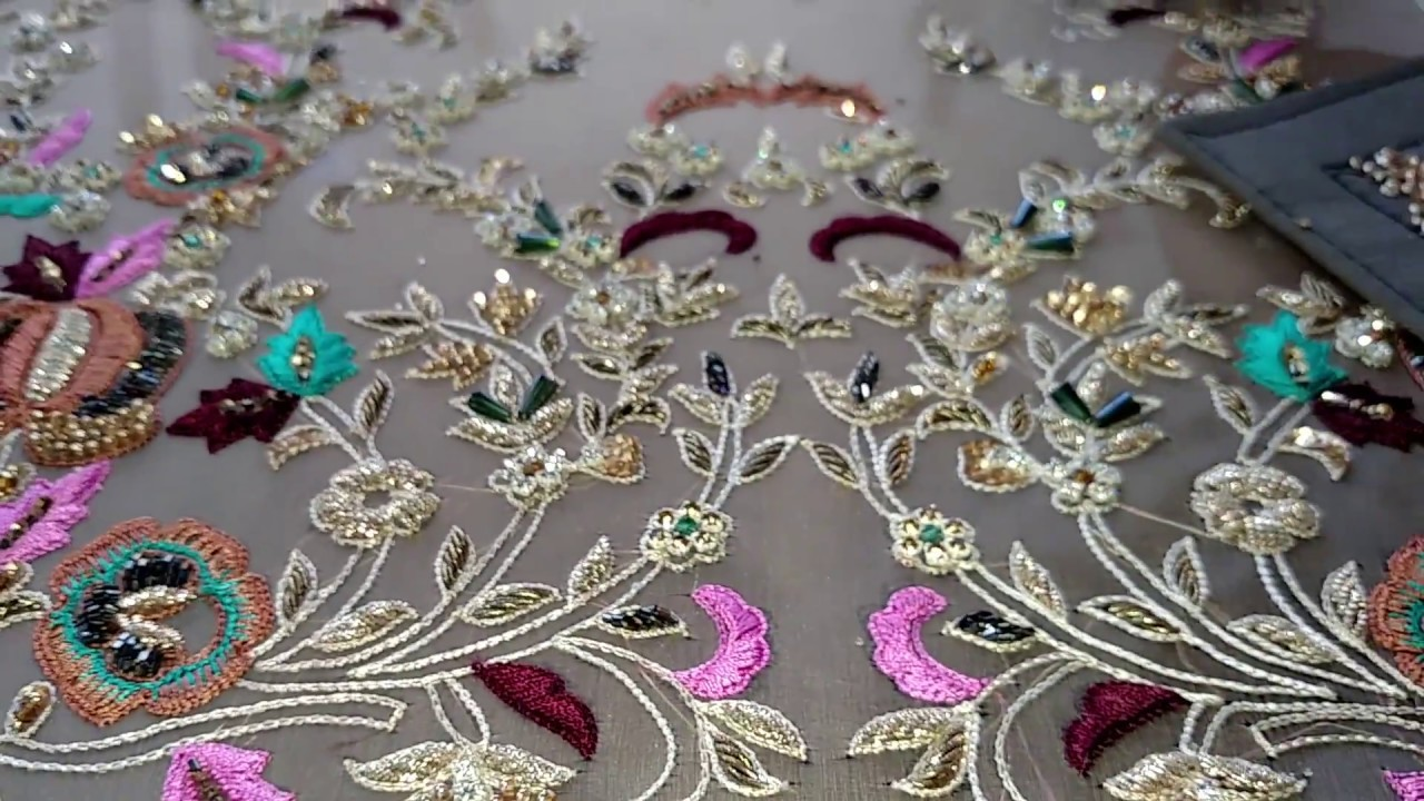 Hand Embroidery Zardosi Embroidery Ideas Beautiful Embroidery