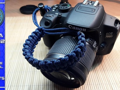 How to make a Paracord Camera Strap - Paracord Camera Wrist Strap Tutorial