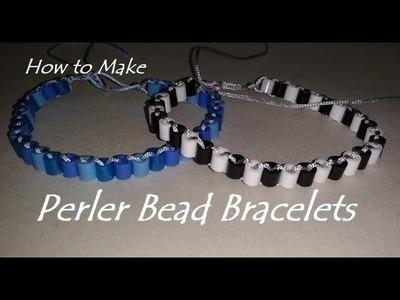 How to Make a Perler Bead Bracelet Tutorial