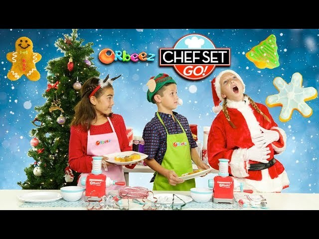 How To Make DIY Holiday Orbeez Cookies - Homemade on Chef Set Go! | Official Orbeez