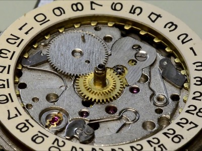 How to service an  watch Poljot 2614 2H repair tutorial Dissasembly