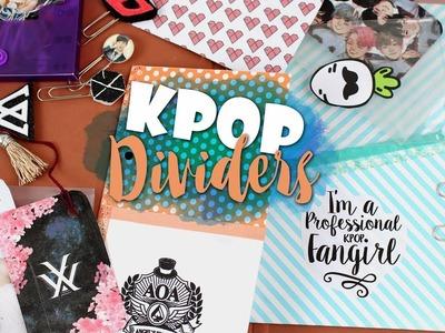 KPOP DIY: Make your own KPOP DIVIDERS |K-freakEnglish| AOA, EXO, MONSTAX, SVT, WJSN, MAMAMOO