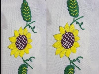 Flower Hand Embroidery Beautiful Flower Stitch Tutorial 1