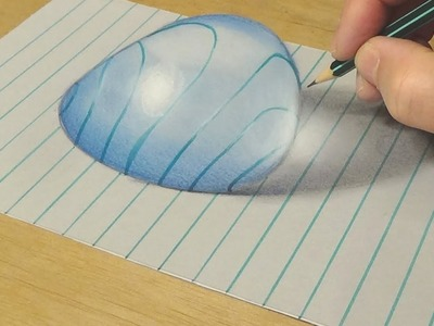 3d Drawing On Lined Paper : Paper d drawing an how to news