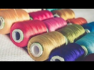 What to do with silk thread.diy.home