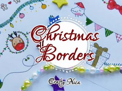 BORDERS DESIGNS ON PAPER ???? Borders for Christmas Cards and school projects ideas (3) Crafty Nica