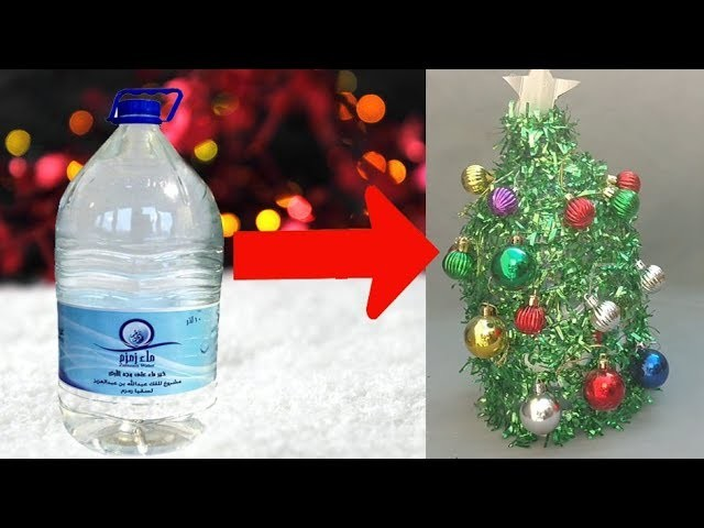 Christmas Decorations Using Plastic Bottles Christmas Tree Out Of