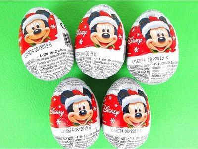 Disney Christmas Chocolate Surprise Eggs!