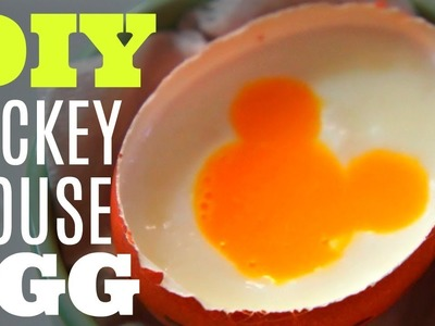 DIY MICKEY MOUSE shaped EGG Tokyo Disneyland | You Made What?!