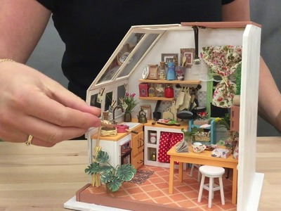 DIY Miniature Room kit - kitchen