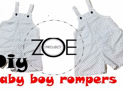 DIY sewing romper for baby | Zoe diy