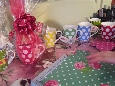 Gift wrapping mugs - Adults & Children inc Christmas eve Idea