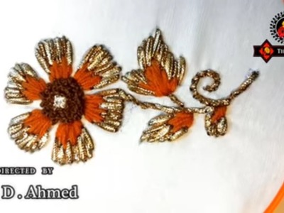 Gota embroidery-hand embroidery-dhanak embroidery