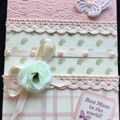 Hand crafted card for Mum.