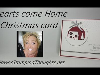 Hearts Come Home Christmas card