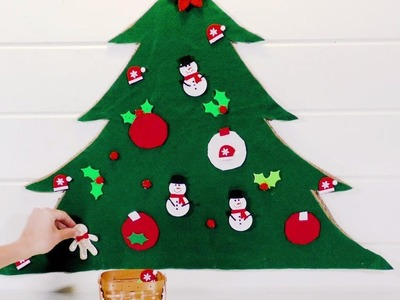 How To Make A Christmas Felt Board | Southern Living