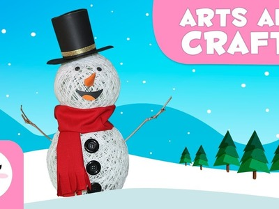 How to make a snowman - Christmas crafts