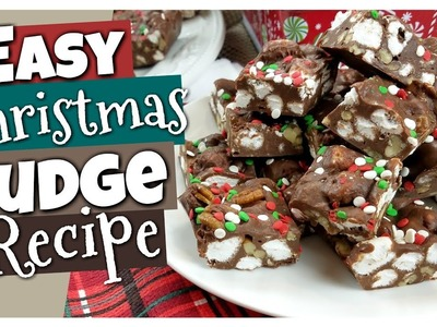 How to Make EASY Christmas FUDGE ???? Virtual Cookie Exchange Collab