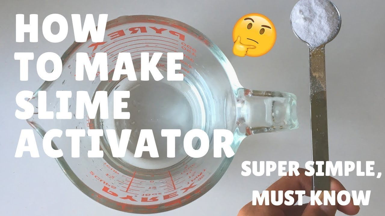 How to make slime activator borax tutorial ccuart Images