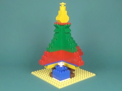Lego Christmas Tree (001) Building Instructions - LEGO Classic How To Build - DIY