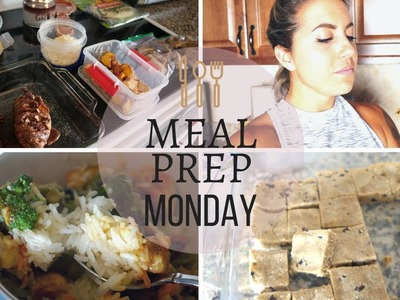 MEAL PREP MONDAY: DIY Healthy Protein Bars, Candied Sweet Potatoes & Pork Tacos!