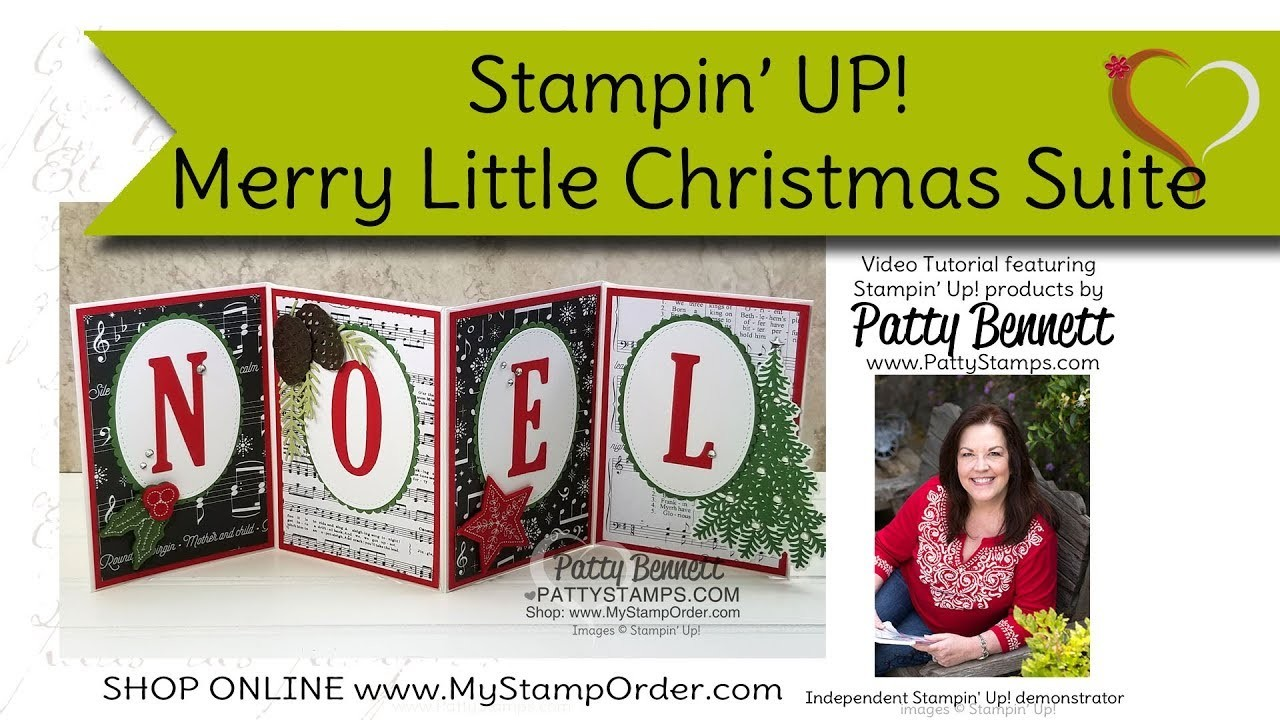 Merry Little Christmas Holiday Treats. Noel banner by Patty Bennett