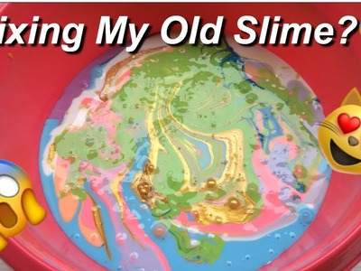 Mixing My Old Collection Slime!!???? [PART 2]