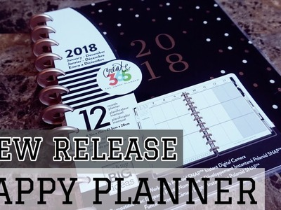 NEW RELEASE BIG HAPPY PLANNER | MODERN SIMPLE HAPPY PLANNER | HAPPY PLANNER FLIP THROUGH