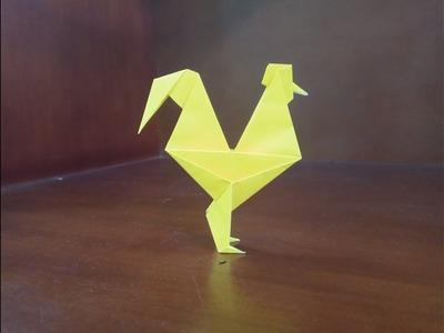 Origami Gallo - How to make gallo