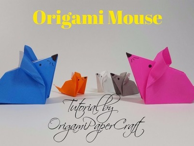 Origami: Mouse | OrigamiPaperCraft || (Fast&Easy) | Tutorial for Beginners