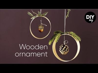 Panduro EASY DIY Wood and Acorn Ornament