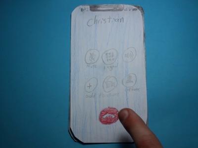 Paper iPhone X