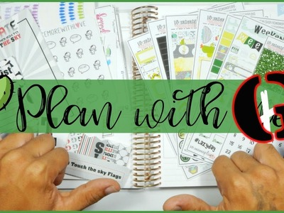 """Plan with """"G"""" ((Rated PG13)) in an Erin Condren Life Planner 
