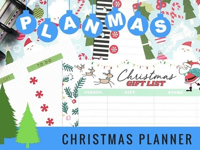 Plan with Me: Christmas Planner Section. PLANMAS Day 6 | Plans by Rochelle