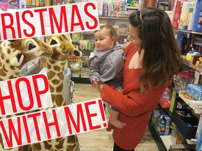 SHOP WITH ME FOR CHRISTMAS +WHAT IM GETTING MY 1 YEAR OLD BABY | Hayley Paige