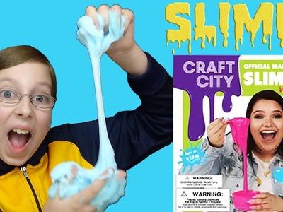 Testing KARINA GARCIA'S DIY SLIME KIT! | HOW TO MAKE SLIME | COLLINTV