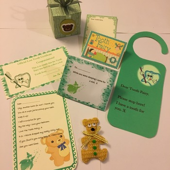 Tooth fairy collection kit.