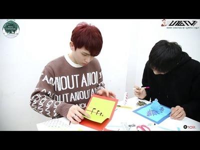 U10TV ep 167 - Merry Christmas 1탄 '입체카드' 만들기 (DIY Pop-up Christmas Card)