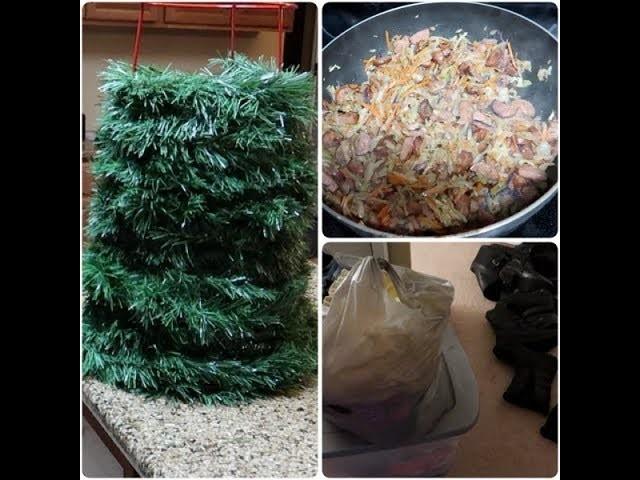 Vlog: *December 9, 2017* ~DIY Fail, Sausage & Cabbage Recipe & De-cluttering!~