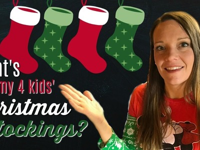 What's in my 4 Kids' Christmas Stockings?