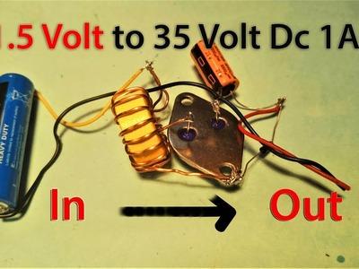 1.5Volt to 35Volt 1Ah Make Easy.