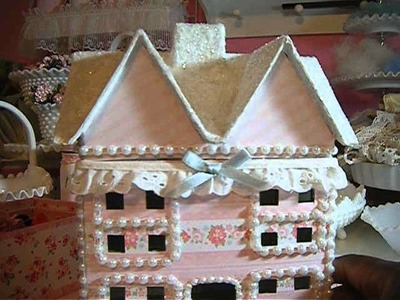 Altered Mache houses and more