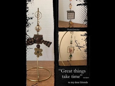Beautiful DIY Dollar Tree Alphabet Block Ornaments 12 DAYS OF CHRISTMAS SERIES