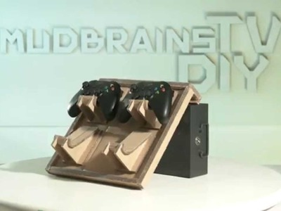 Cardboard DIY Pad Mount Holder for XBOX ONE pads