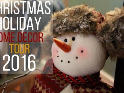 ⭐ Christmas.Holiday Home Decor Tour 2016 ⭐