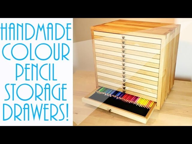 handmade seller login colour pencil storage handmade wooden drawers 6972