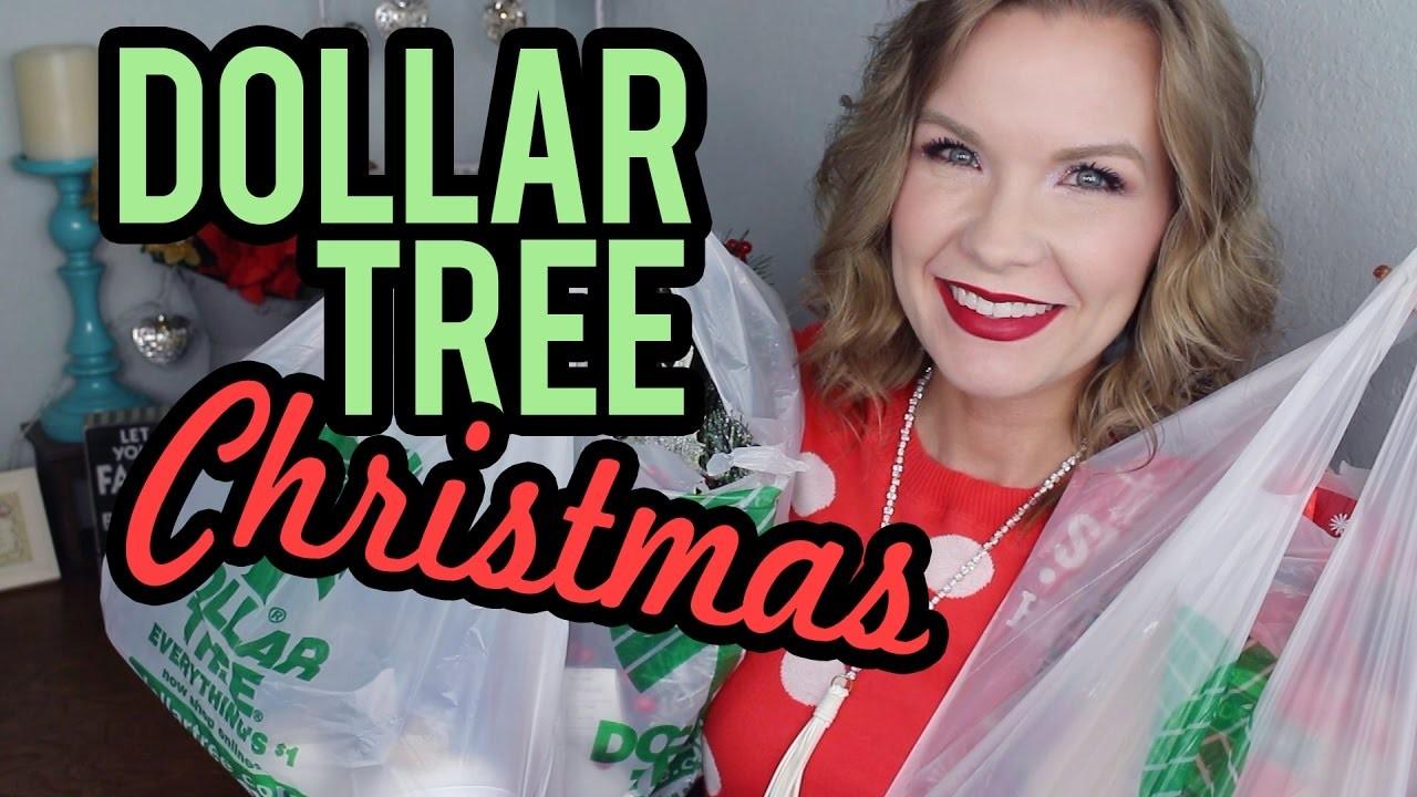 Dollar Tree Christmas Decor Haul 2016! | LipglossLeslie